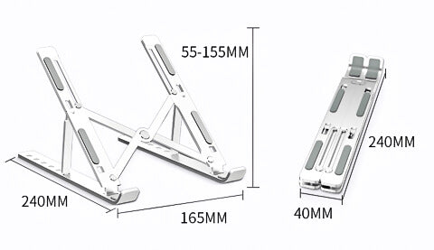 N3™️ - Adjustable & Portable Creative Laptop Stand 9