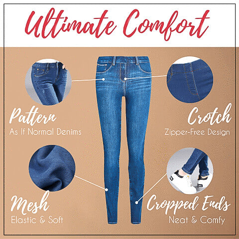 Perfect Fit- Push Up Jeans Leggings Alysrom Official 5