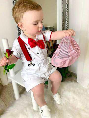 SØT - Summer Baby Boy 6pcs Outfit