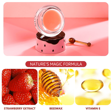 Bee Balm - Strawberry Intense Hydrating Beauty Lip Mask Alysrom Official 23