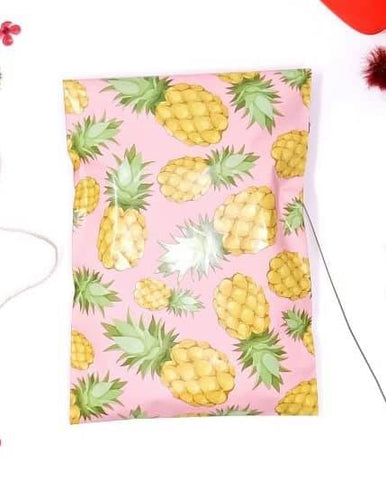 Pineapple 6x9 poly mailer - set of 20