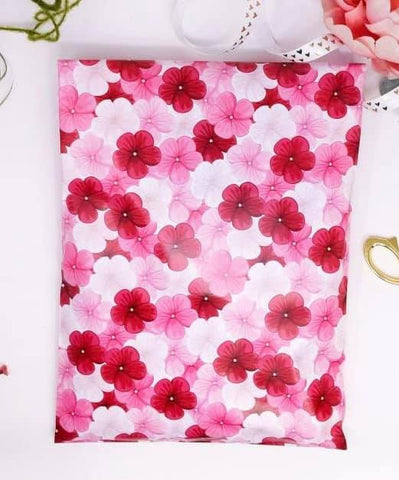Floral 10x13 Poly Mailer - set of 20