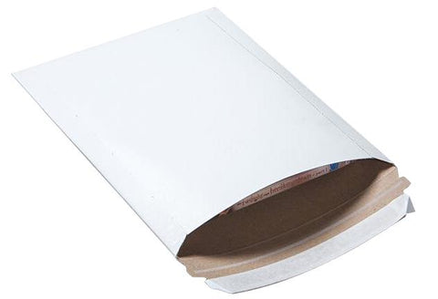 White 7x9 Rigid Mailer