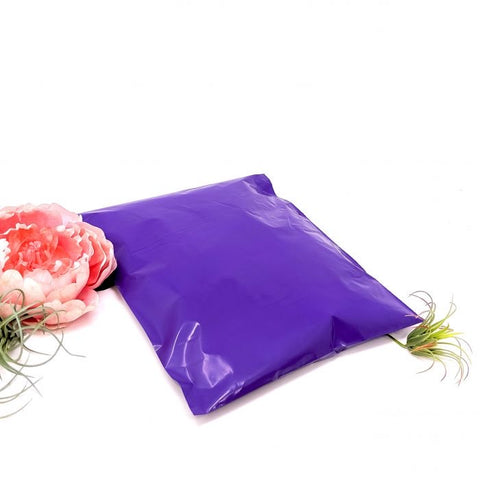 Purple 10x13 Poly Mailer - set of 20