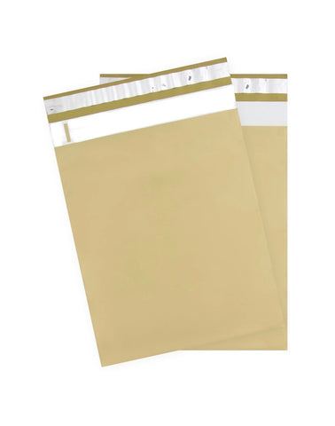 Gold 10x13 Premium Poly Mailer - set of 10