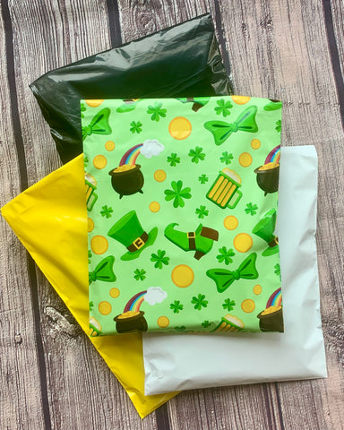 10x13 St Patricks poly mailer bundle - set of 40