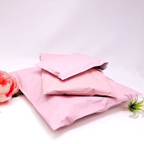 Pale pink 6x9 poly mailer - set of 20