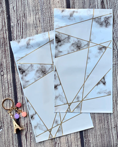 Marble 6x9 poly mailer - set of 20