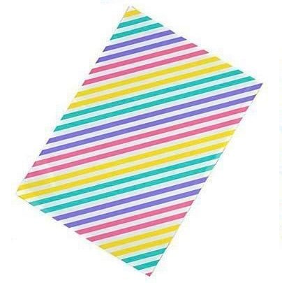 Pastel stripes 10x13 Premium Poly Mailer - set of 10