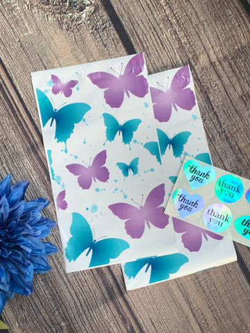 Butterfly 6x9 poly mailer - set of 20