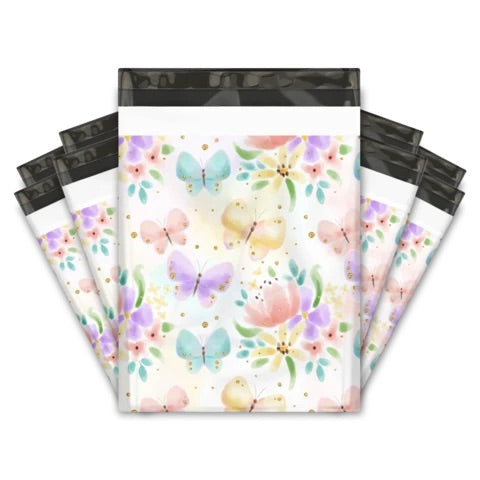Beautiful butterflies 10x13 Premium Poly Mailer - set of 10