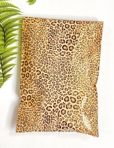 Leopard 6x9 poly mailer - set of 20
