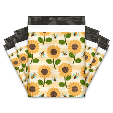 Sunflower 10x13 Premium Poly Mailer - set of 10