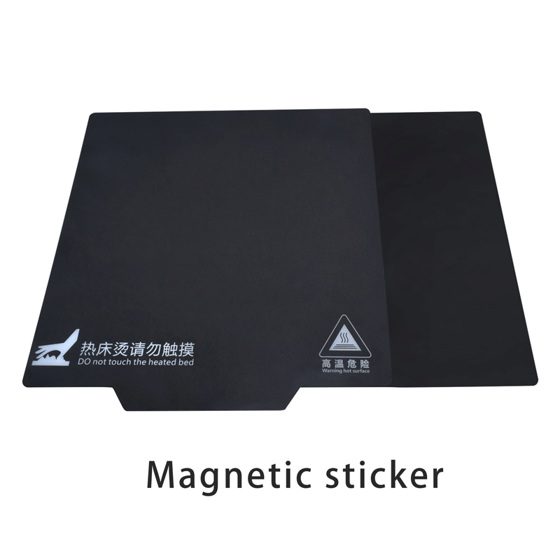 3D Printer parts New Magnetic Bed Tape for Print Sticker 150/200/214/220/235/310mm Square Build Plate Tape Surface Flex Plate - aster3dprinter