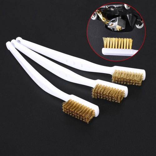 diy 3d printer parts Cleaner Tool Copper Wire Toothbrush
