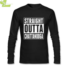 Load image into Gallery viewer, Men T Shirts Long Sleeve Straight Outta Chattanooga