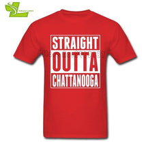 Load image into Gallery viewer, Straight Outta Chattanooga T Shirt Man Short Sleeve - Chattanooga