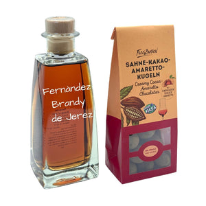 Brandy & Truffles Gift Set