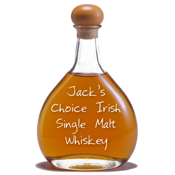 Jack's Choice Irish Single Malt Whiskey, 11 years