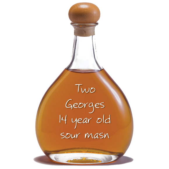 Two Georges Sour Mash Bourbon, 14 years