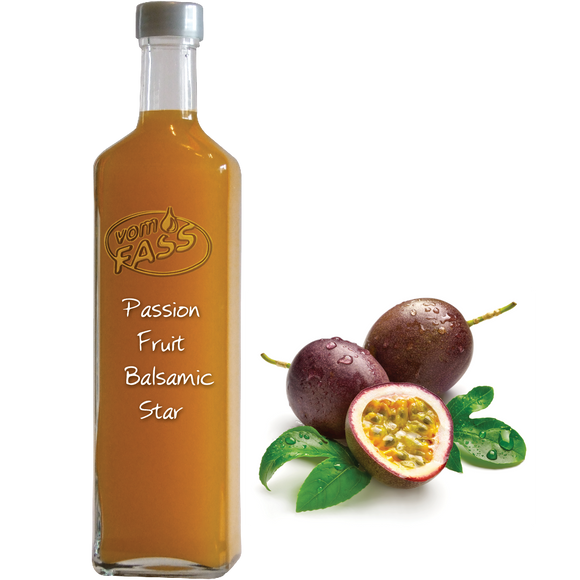 Passion Fruit Balsamic Star