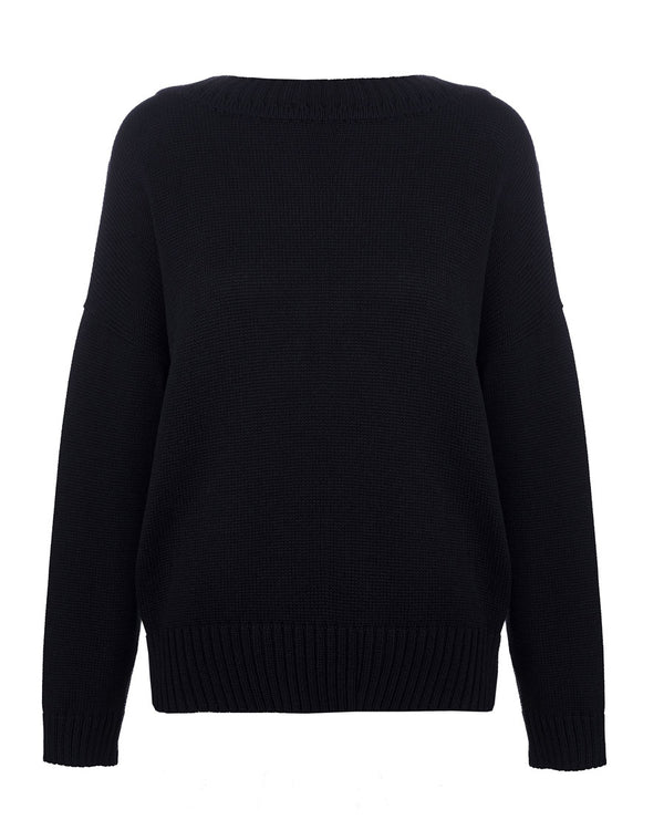 Black back jumper