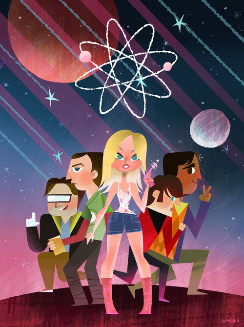 STARS OF BIG BANG THEORY | JOEY CHOU