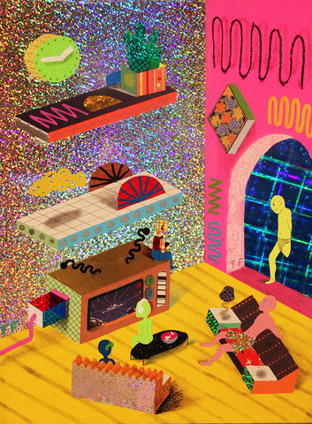 PSYCHEDELIC APARTMENT | TIM FUREY