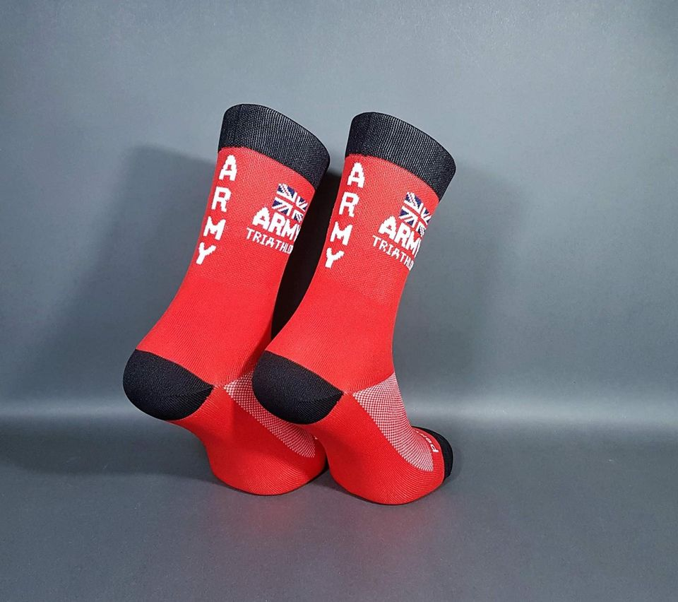Army Triathlon Association running socks