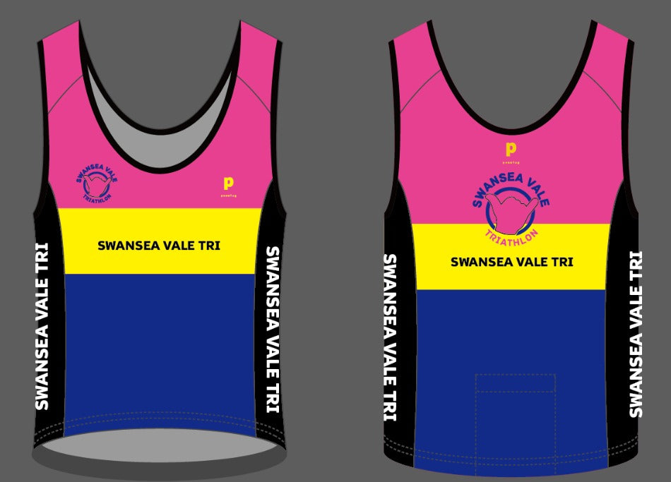 Swansea  Vale Tri Running / Gym Vests