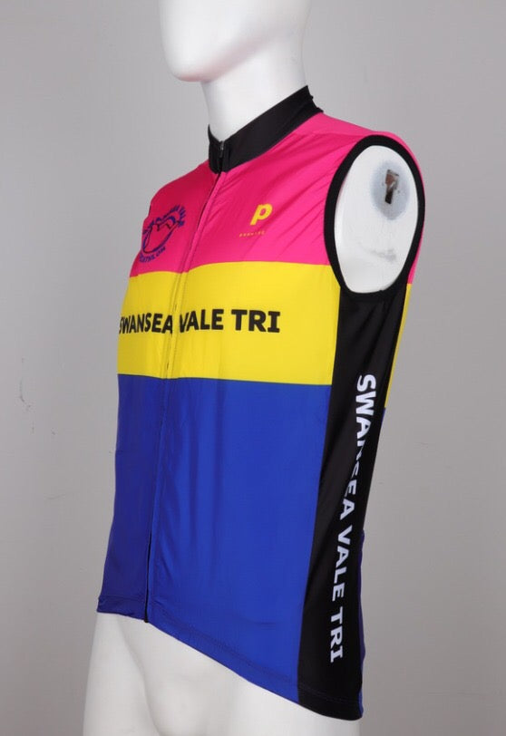 Swansea Vale Tri Cycling Gilet