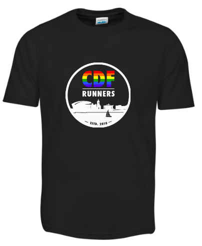 CDF Runners Rainbow Logo T-Shirt
