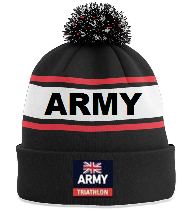 Army Triathlon Association Bobble Hat