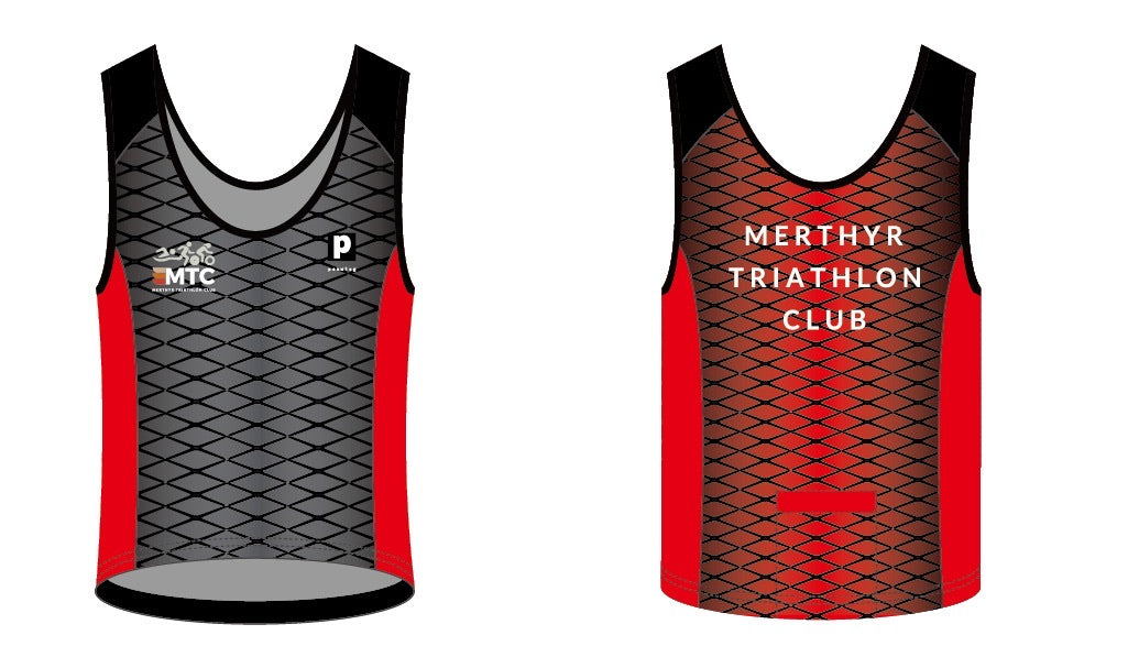 Merthyr Tri Men's Running Vests