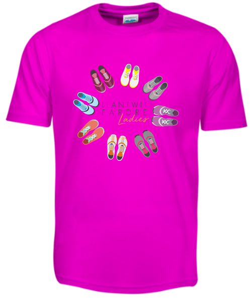 Llantwit Ladies Pink T-Shirt