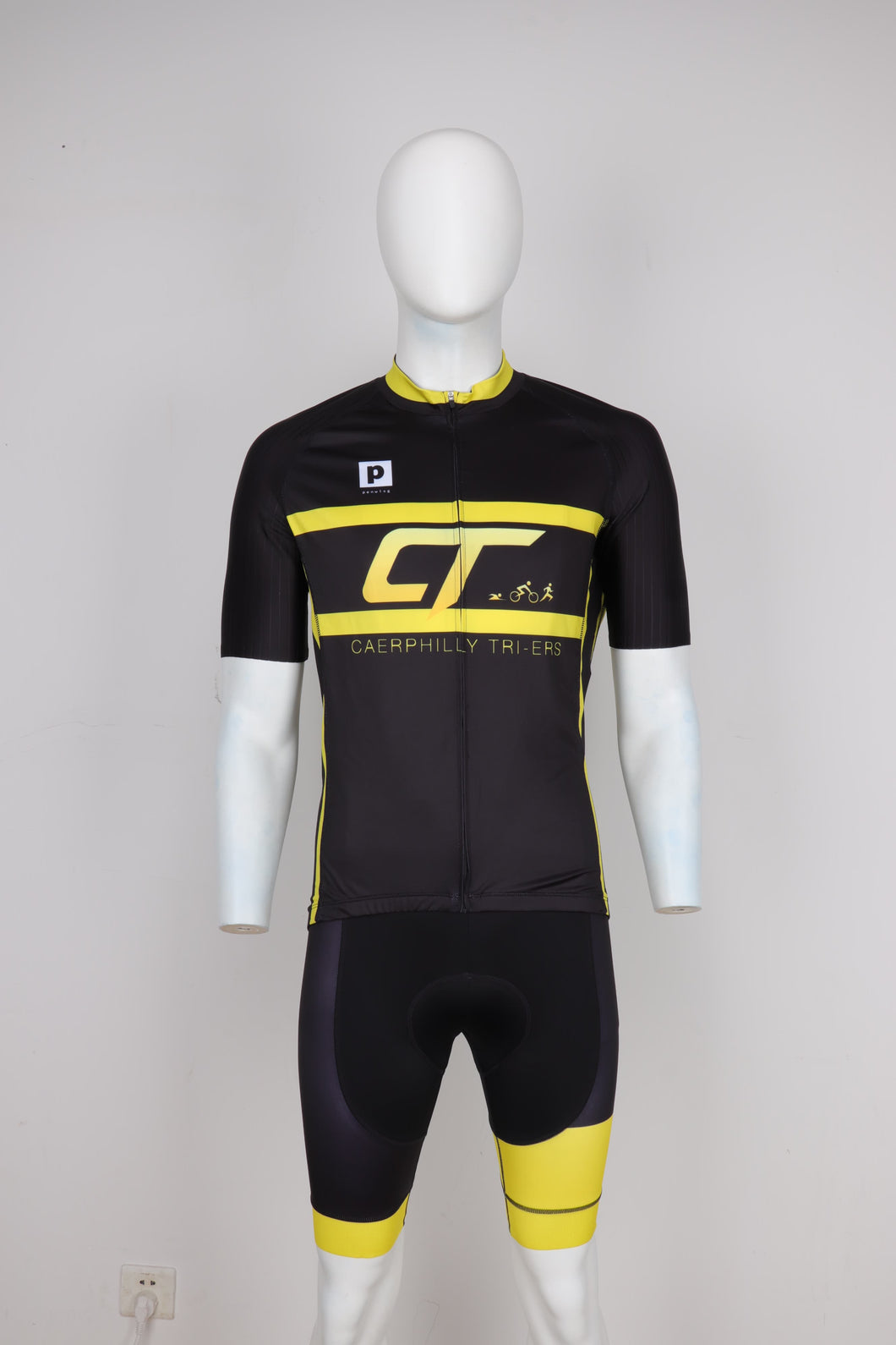 Caerphilly Tri-ers Short Sleeve Cycling Top