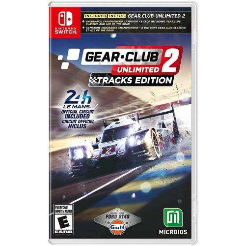 Gear Club Unlimited 2 - Tracks Edition Switch | Gaming Shop