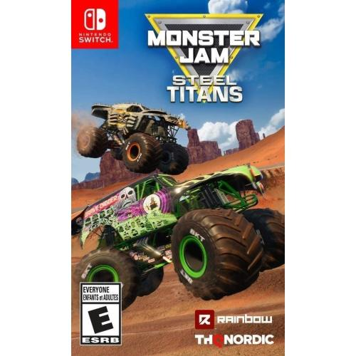 THQ Nordic Monster Jam Steel Titans Nintendo Switch Games and Software