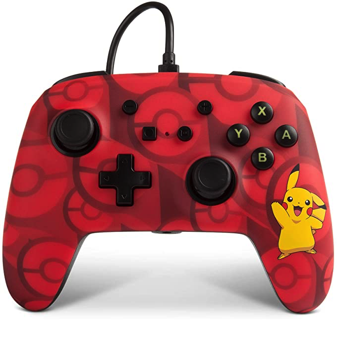 PowerA Nintendo Switch Wired Controller - Pikachu - Pokemon