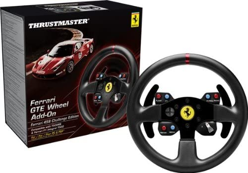 THRUSTMASTER FERRARI 458 CHALLENGE WHEEL ADD ON (E-ONLY) PC | Gaming Shop