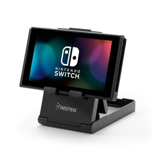 Insten Stand Compact Playstand with Charging Port Access for Nintendo Switch, Universal Foldable Phone Tablet Stand Multi-Angle | Gaming Shop
