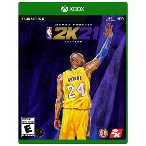 NBA 2K21 Mamba Forever Edition (Xbox Series X) - Gaming Shop (5989027643559)