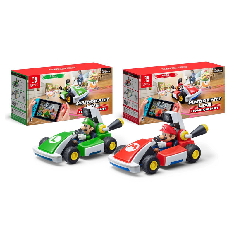 Mario Kart Live: Home Circuit - Mario and Luigi Bundle (Nintendo Switch) - Gaming Shop (5981600514215)