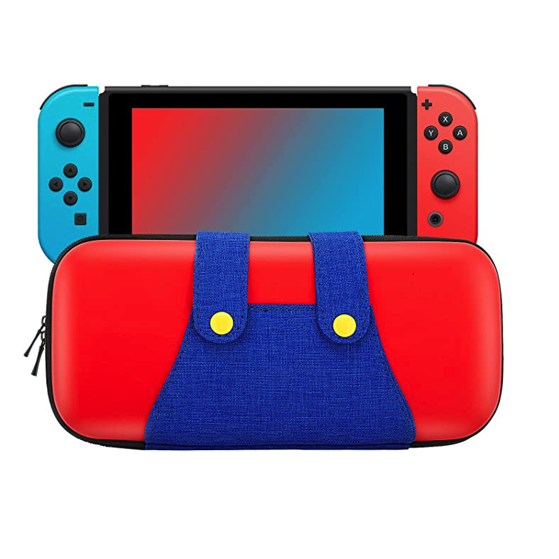 MoKo Portable Protective Hard Shell Cover Travel Carrying Case for Nintendo Switch
