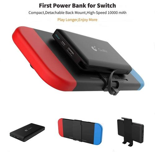 Portable Power Bank for Nintendo Switch - 10000mAh Rechargeable Extended Battery Charger Case - Compact Travel Backup (6029856112807)