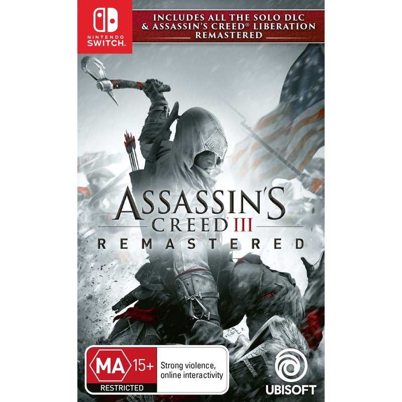 Assassin's Creed III: Remastered (Nintendo Switch)
