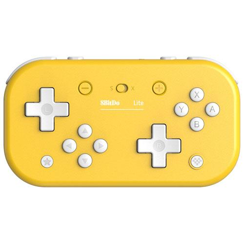 8Bitdo Switch Lite Bluetooth Gamepad - Yellow (6037581201575)