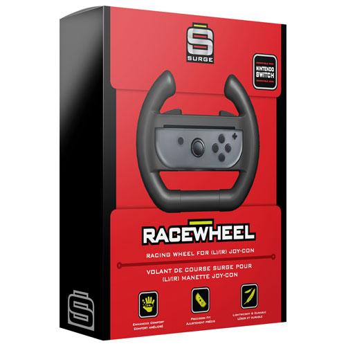 Surge Racing Wheel for Switch - Black (6029691879591)