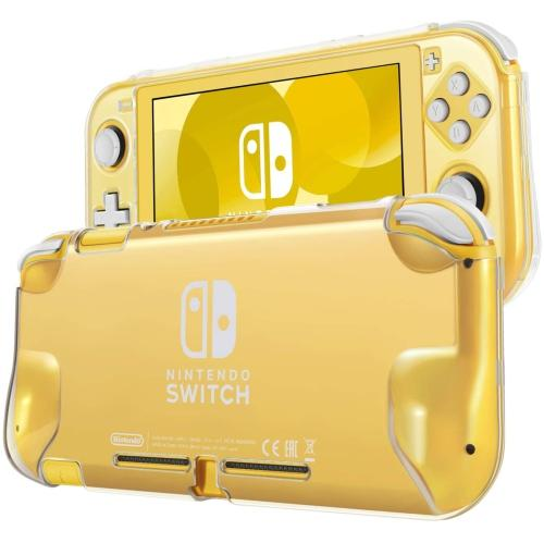 TNP Hard Case for Nintendo Switch Lite Case Skin Cover (Crystal Clear) Comfort Grip Enhance, Lightweight, Slim, Scratch | Gaming Shop