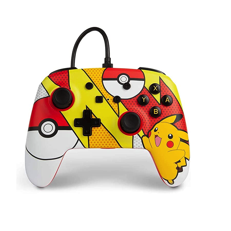 PowerA Pokémon Pop Art Enhanced Wired Controller for Nintendo Switch | Gaming Shop